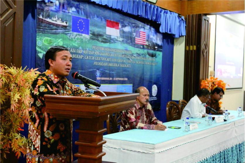 SHTI JADI 'PAGAR' HASIL LAUT INDONESIA