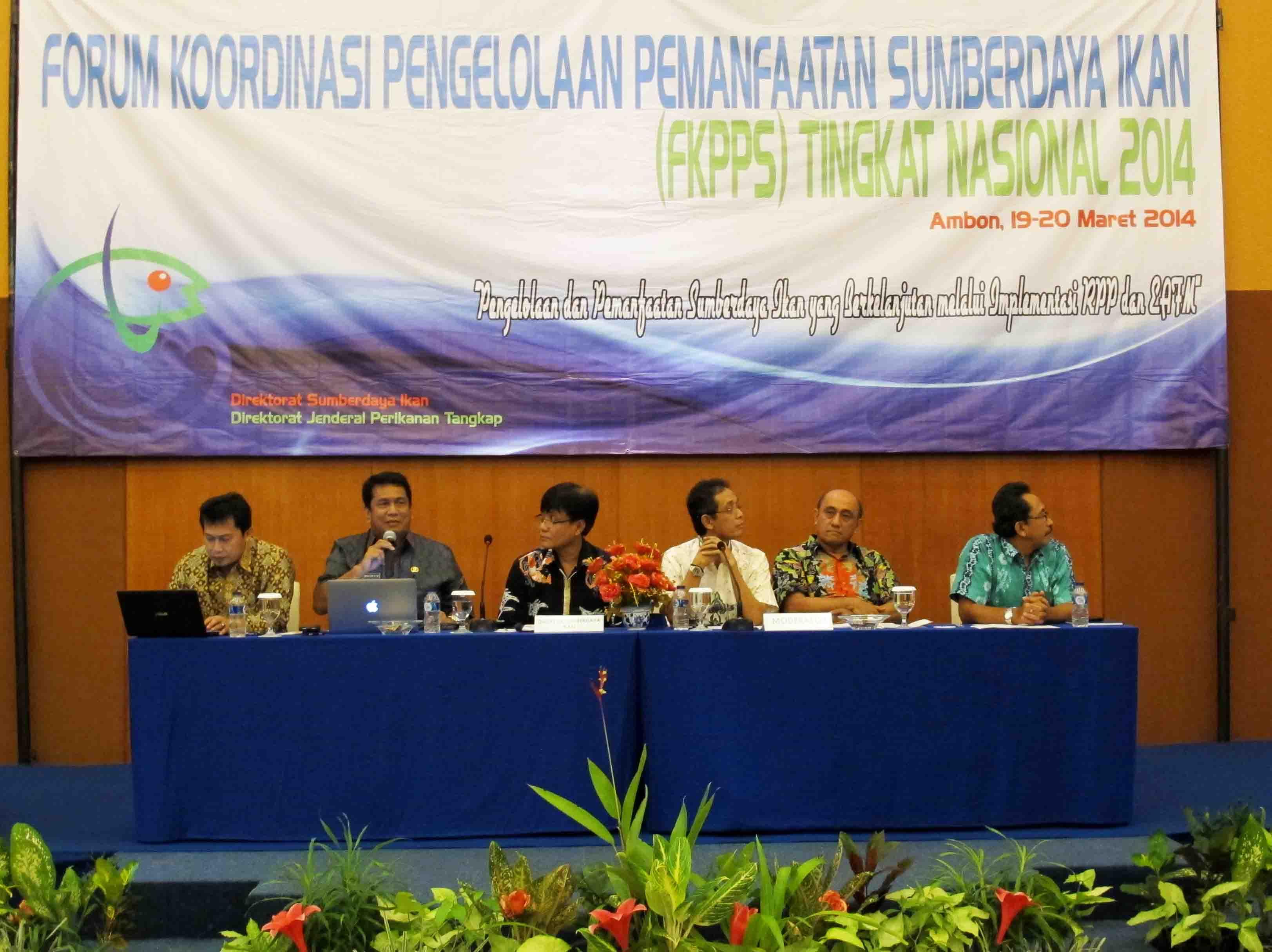 Forum Koordinasi Pengelolaan dan Pemanfaatan Sumber daya Ikan (FKPPS) Nasional